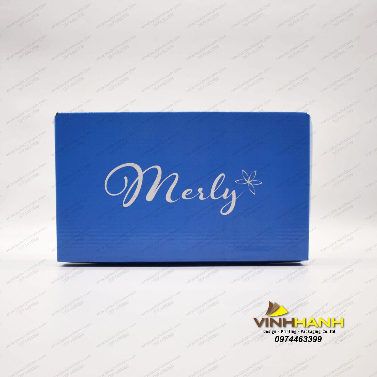 Hộp giấy đựng giày Merly